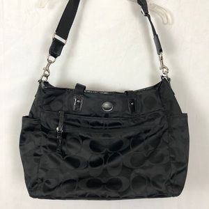 AUTHENTIC COACH DIAPER BAG.